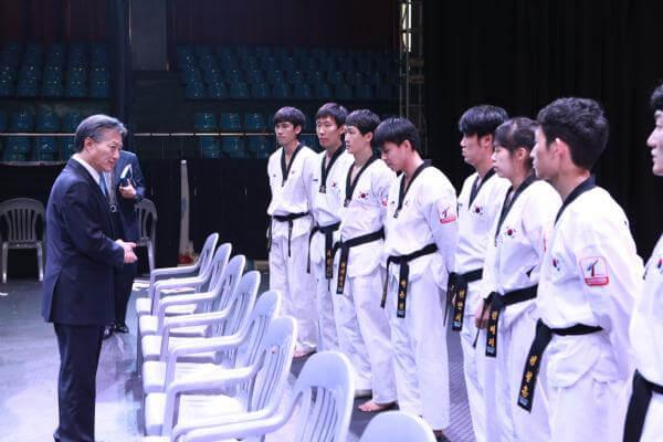 kukkiwon3 itf meet with kukkiwon ITF meet with Kukkiwon kukkiwon3