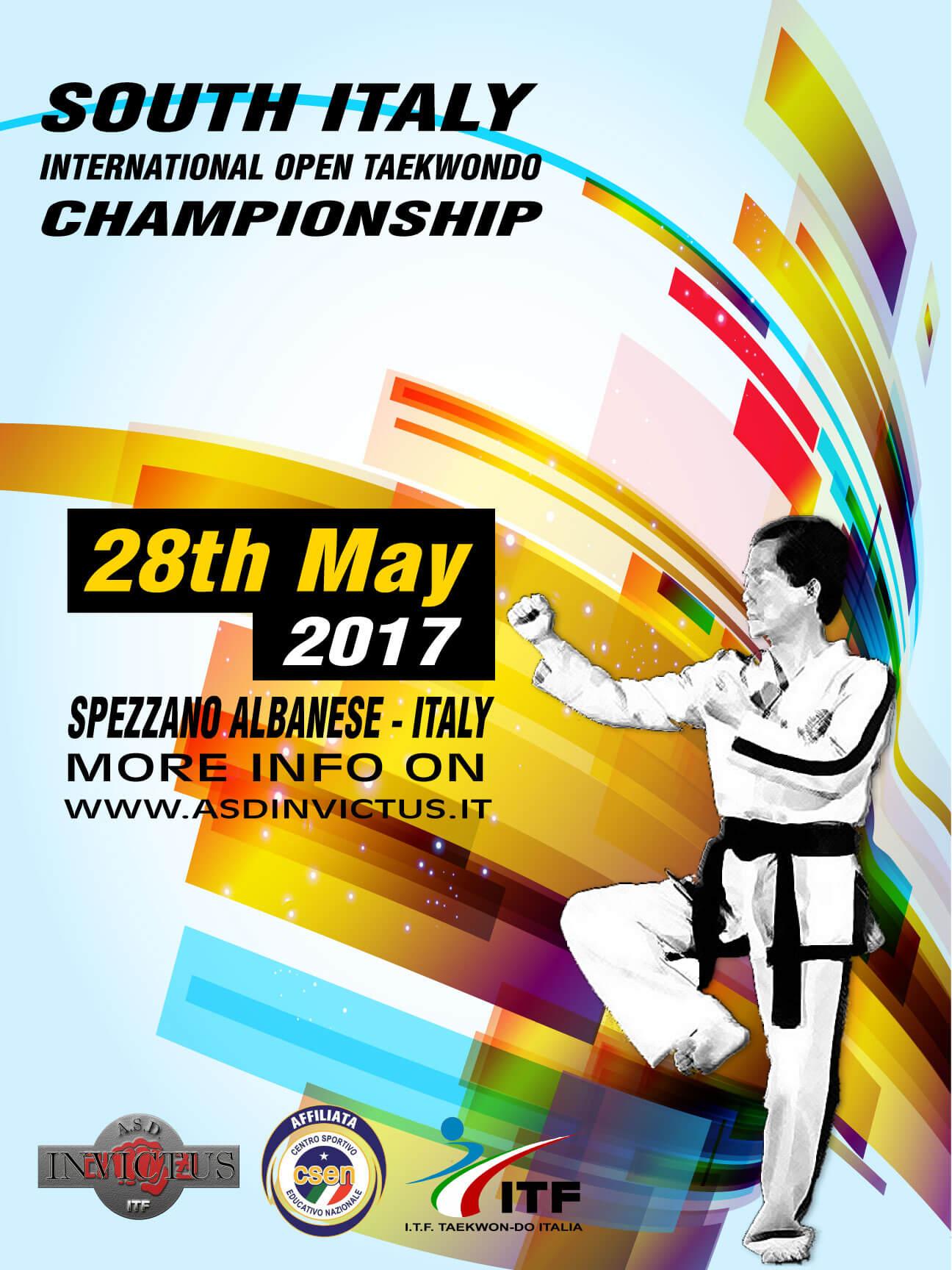 2017 South Italy Open Taekwon-Do Championship