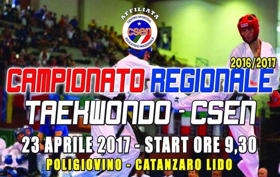 Campionato Regionale Taekwon-Do CSEN