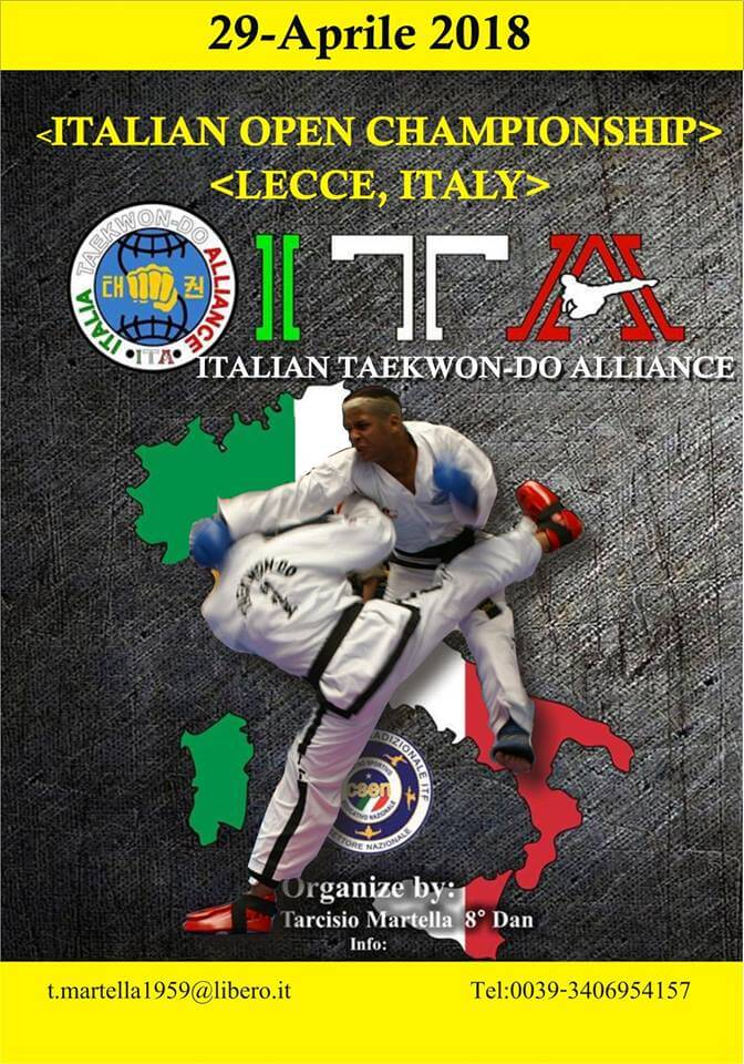 Report Italian Open Championship